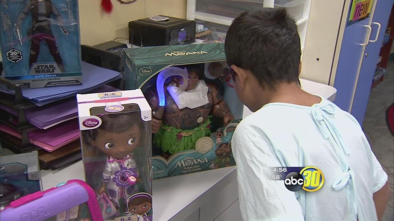 Disney care package gives toys to Valley Childrens patients