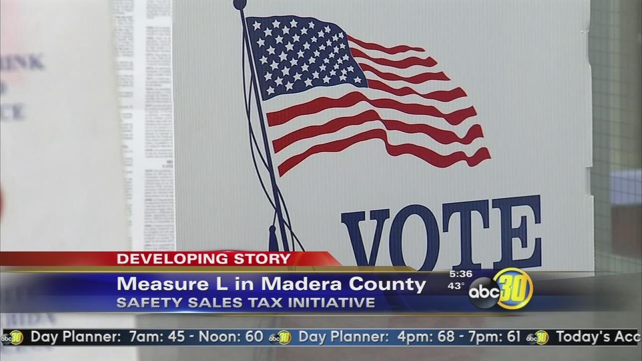 Unofficial results show Madera Co Measure L fails with 56 percent of vote