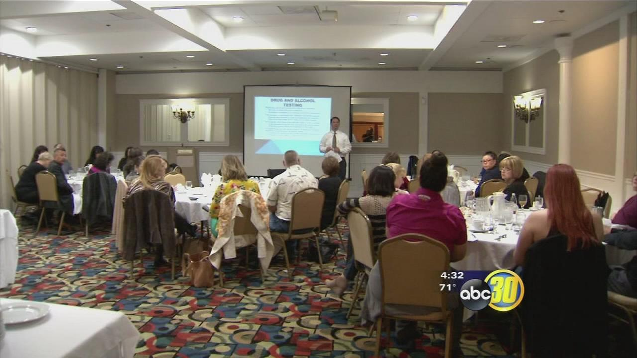 Local employers came together to learn about drug testing procedures and employee rights