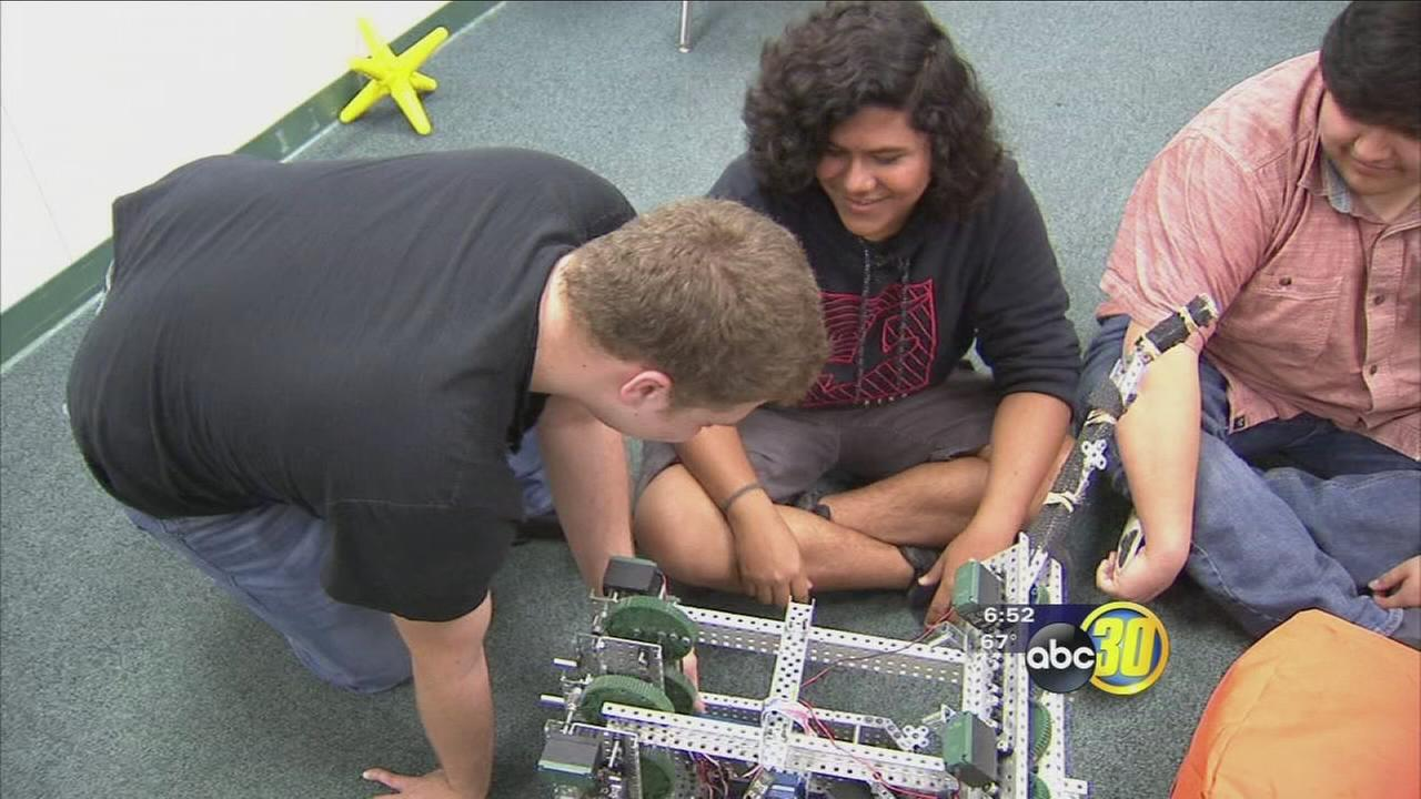 First Central Valley student robotics team heads to world competition
