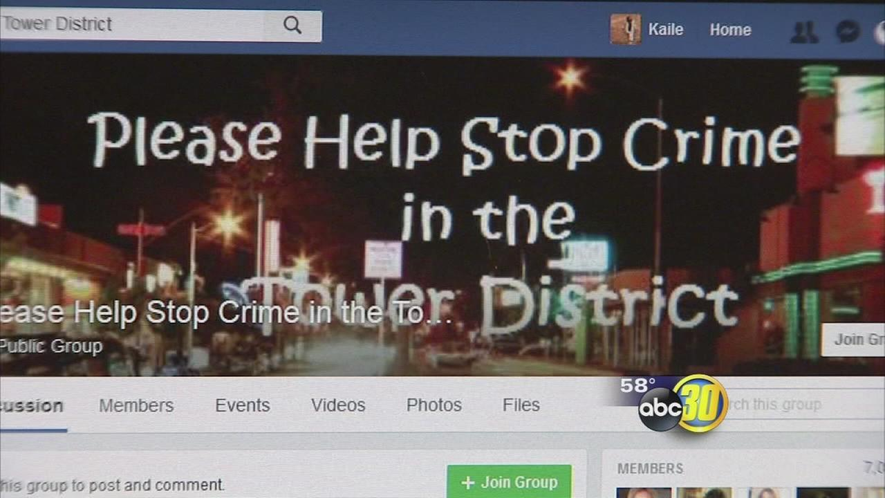 Facebook page working with local leaders to reduce crime in the Tower District