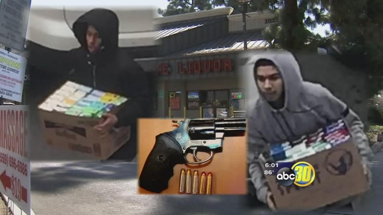 Fresno Police arrest trio of accused cigarette thieves