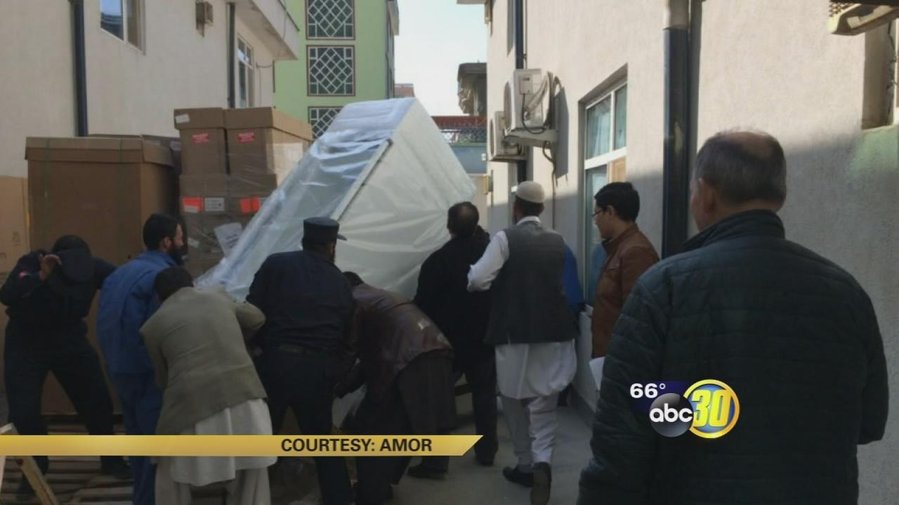 Local non-profit group uses grant to expand medical services to hospital in Afghanistan