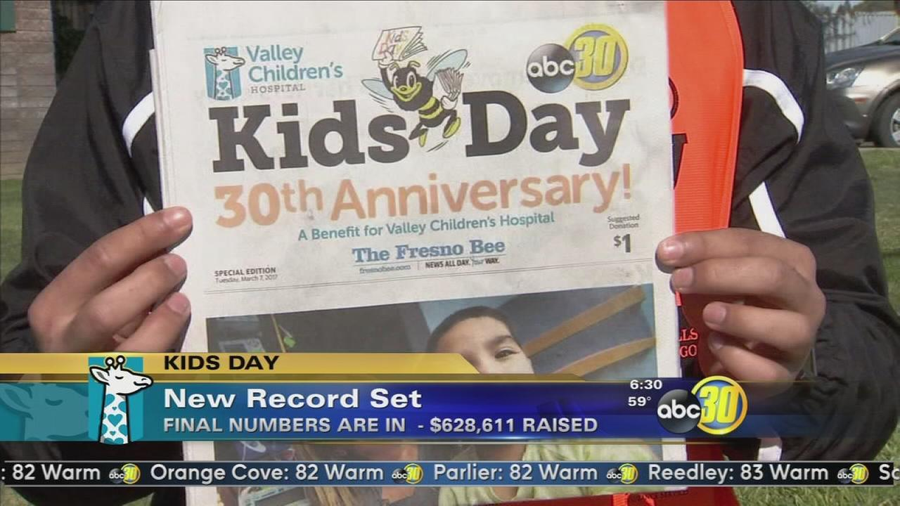 Kids Day raises a record $628,611