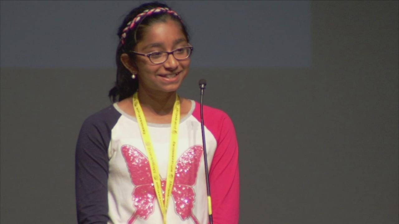 2 top spellers in Fresno County head to Scripps national competition