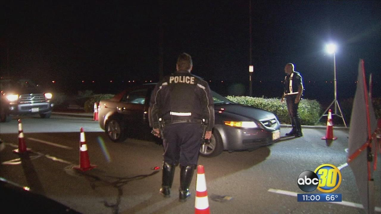 Funding troubles may mean fewer DUI checkpoints in Fresno