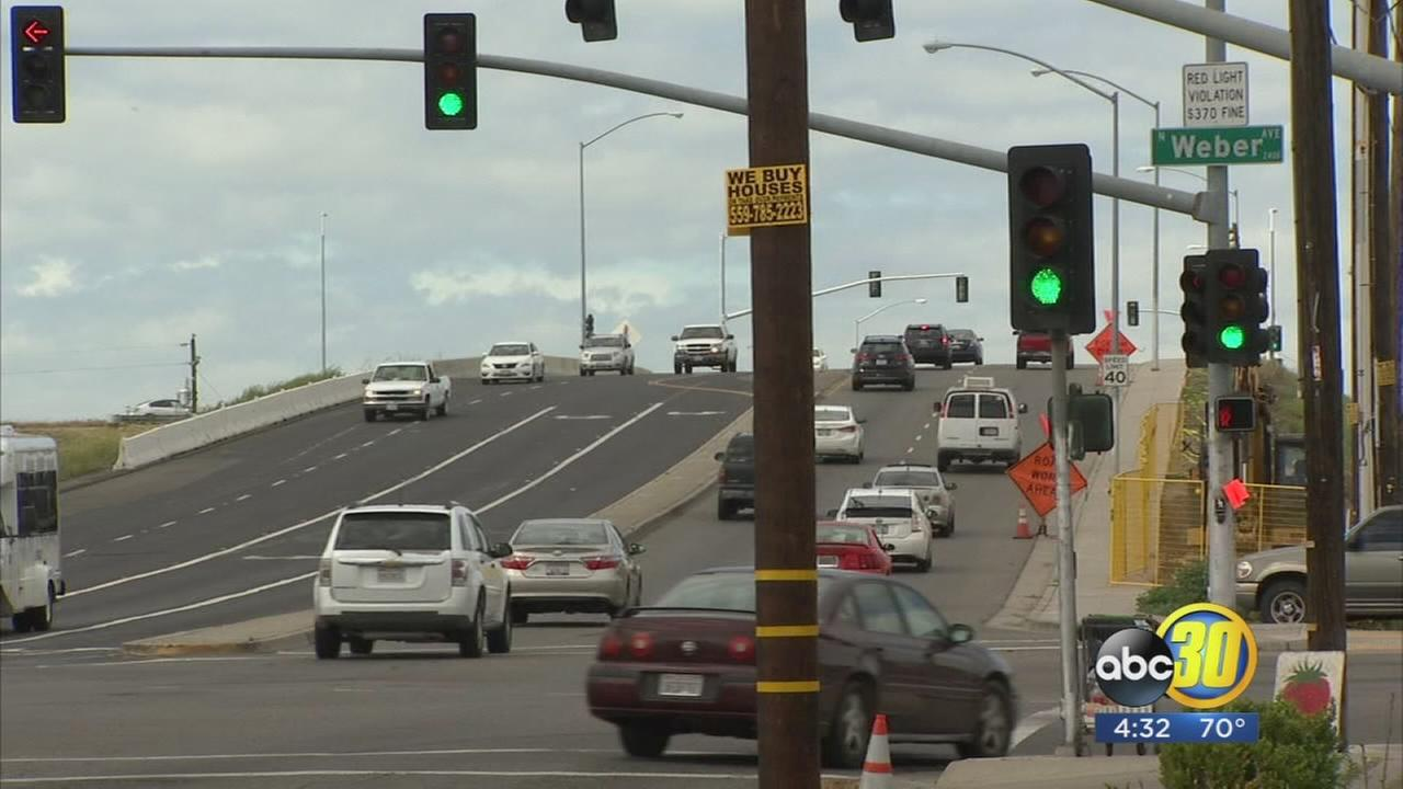 Clinton overpass in West Central Fresno to close for 6 months as crews make way for High-Speed Rail