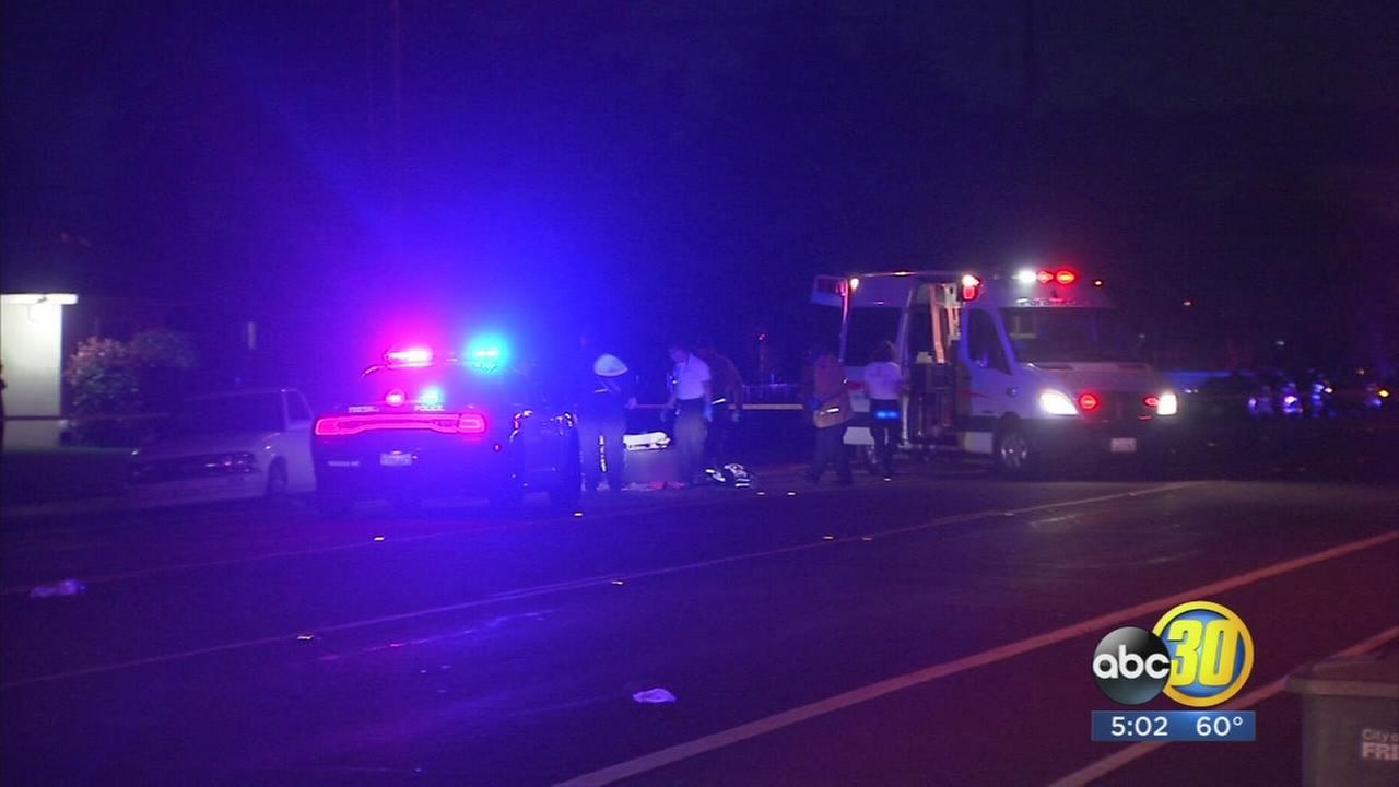 Police treating deadly hit-and-run in Northeast Fresno as a homicide