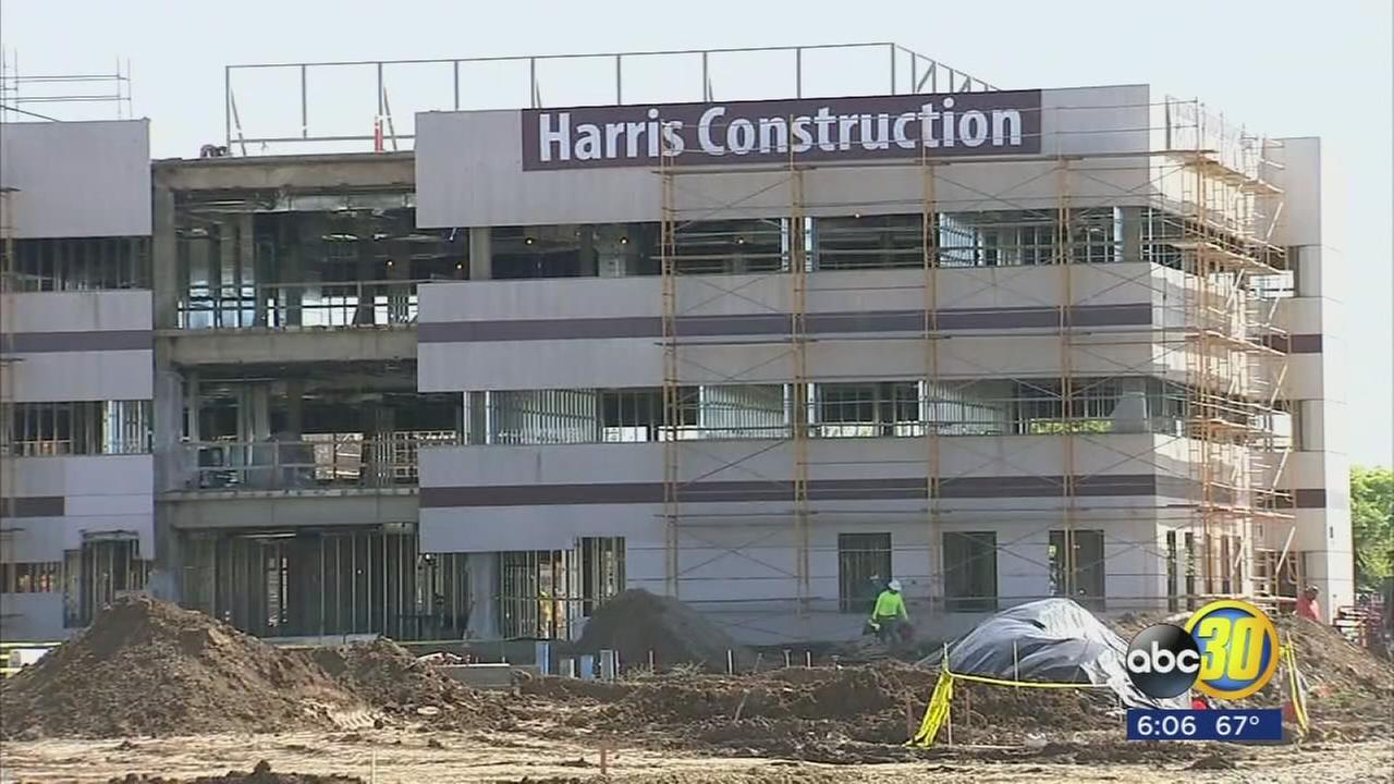 New mental health hospital getting closer to completion in Merced