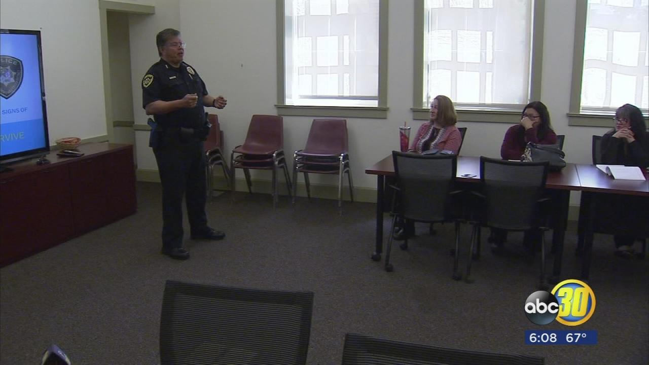 Fresno City College employees learning how to handle active shooter situations
