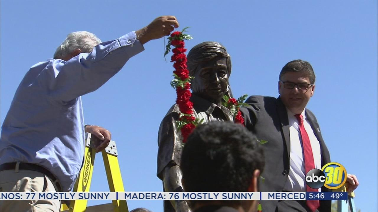 Fresno State holds Garlanding Ceremony to honor Cesar Chavez