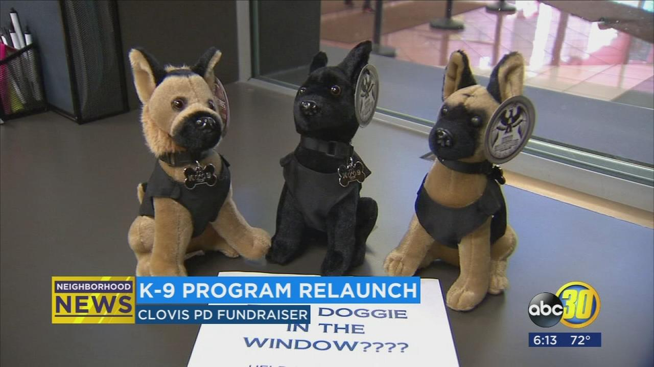 Clovis Police hold adorable fundraiser for K9 unit