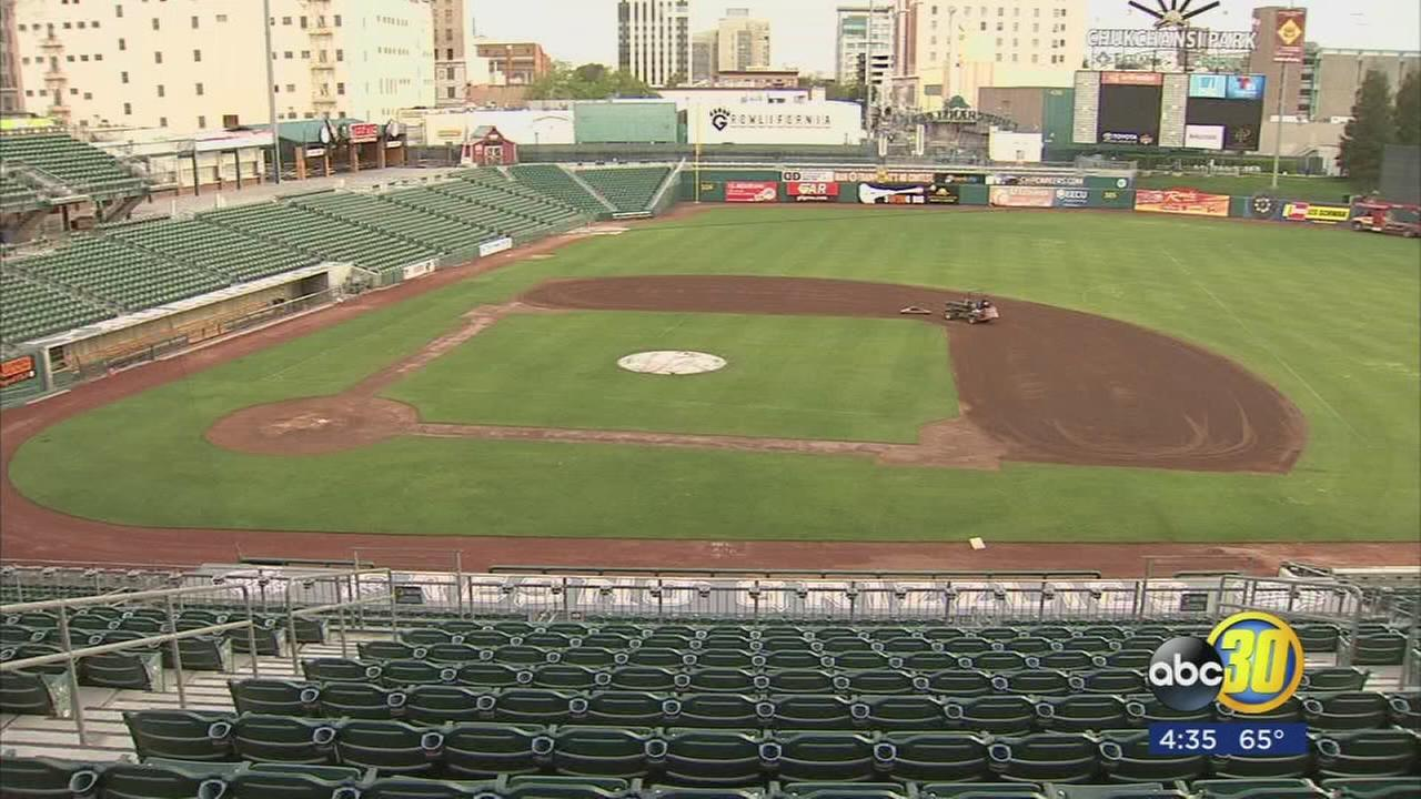 Fresno Grizzlies gearing up for opening day at Chukchansi Park