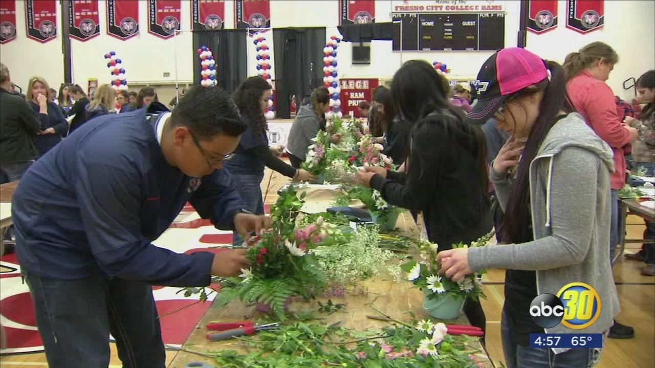 Over 1,000 high school students participated in a career skills challenge day at Fresno City College