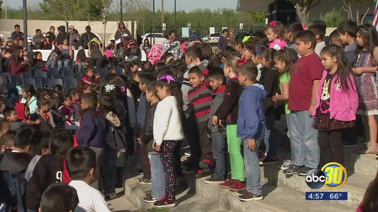 Valley students celebrate Cesar Chavez Day