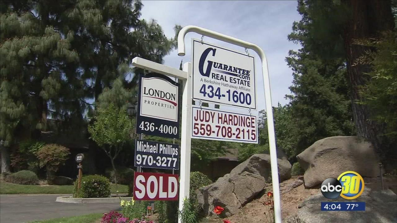 Prices for a home in Fresno going up for the first time in years