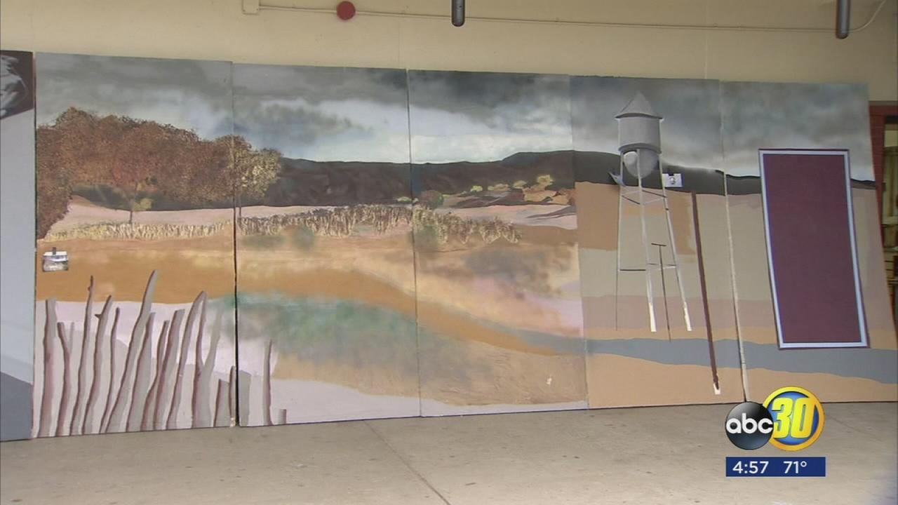 Project combining literacy and art at McLane High School inspired by writer?s life story