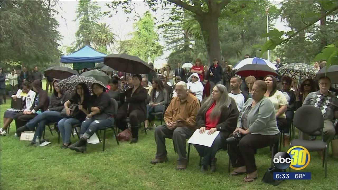 Merced County families came together to remember victims of violent crimes