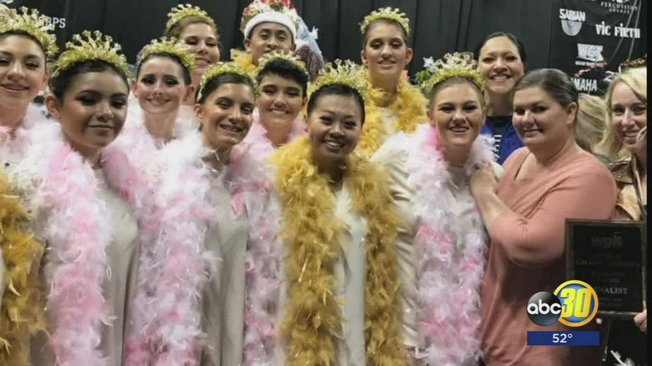 Clovis High Color Guard places 9th in World Championships