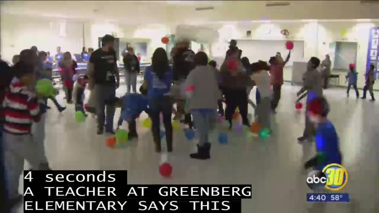Greenberg Elementary holds dance for Autistic students