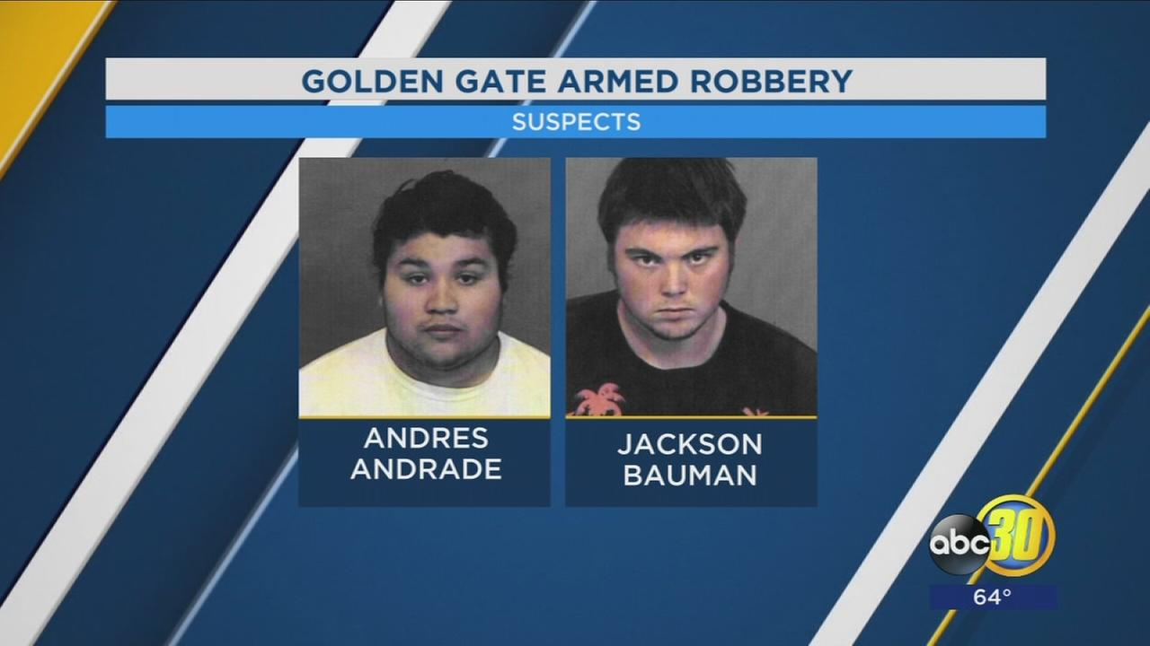 4 young men from Fresno arrest for armed robbery on Golden Gate Bridge