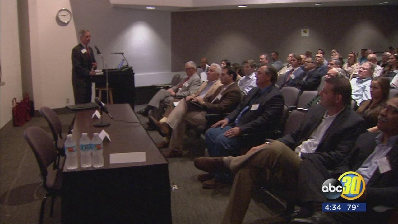 AG leaders gather at Fresno State for symposium on the future of water in the Valley