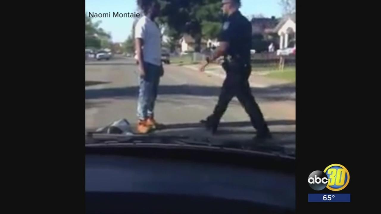 Man in Sacramento seen in viral video of officer beating has connection to Fresno
