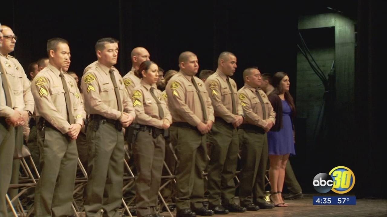 New employees sworn in at Fresno Co. Sheriffs Office ceremony and ABC30 employees honored