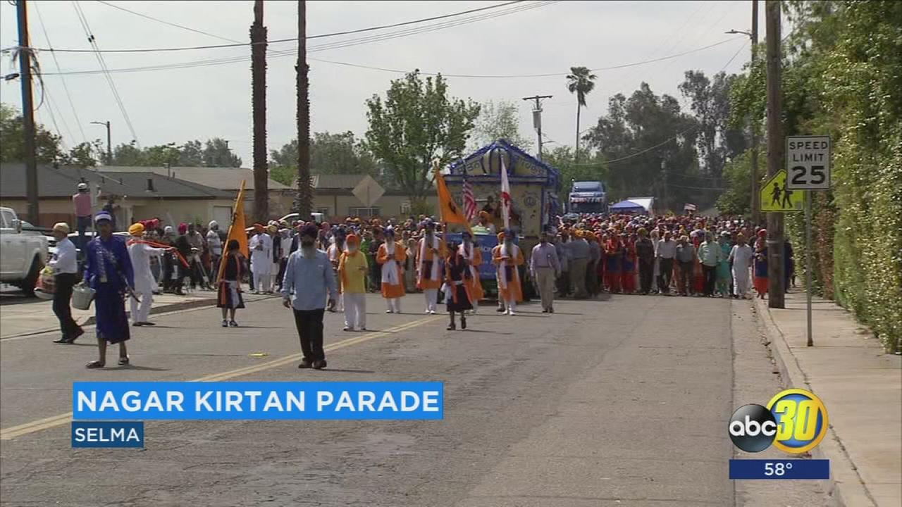 Thousands gather for Sikh cultural celebrations in Selma
