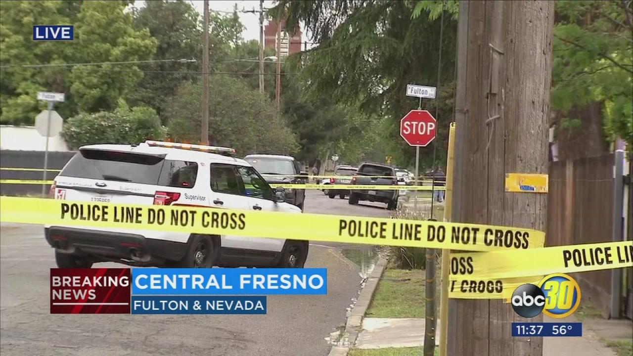 Fresno Police are investigating a double homicide in Central Fresno