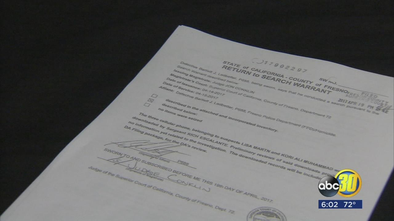Search warrant from first shooting Kori Muhammad allegedly committed released
