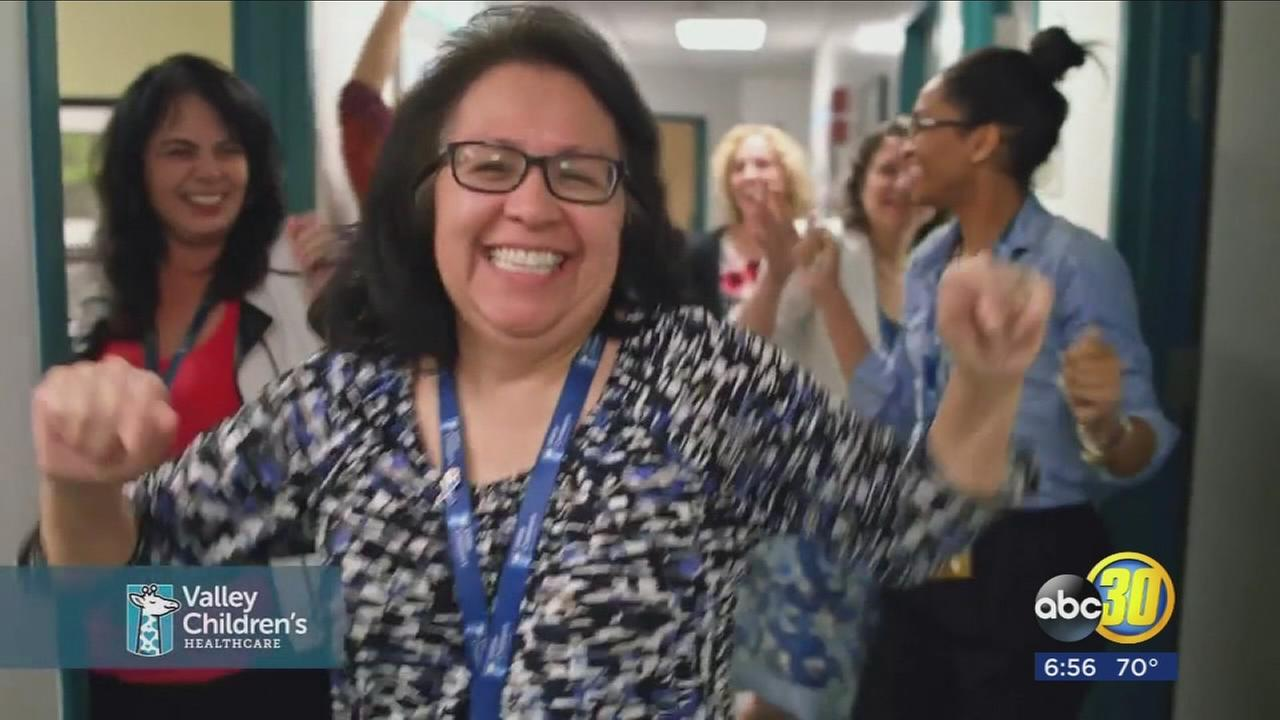 Valley Childrens employees participate in lip sync video to celebrate being named best place to work