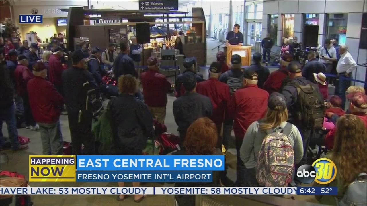 Central Valley Honor Flight is headed for Washington, D.C.