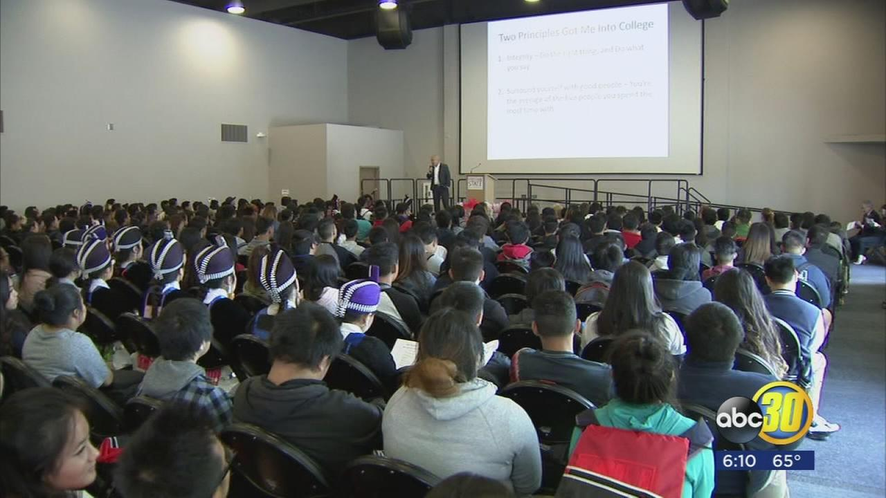 High school students get college head start thanks to Fresno States Journey to Success