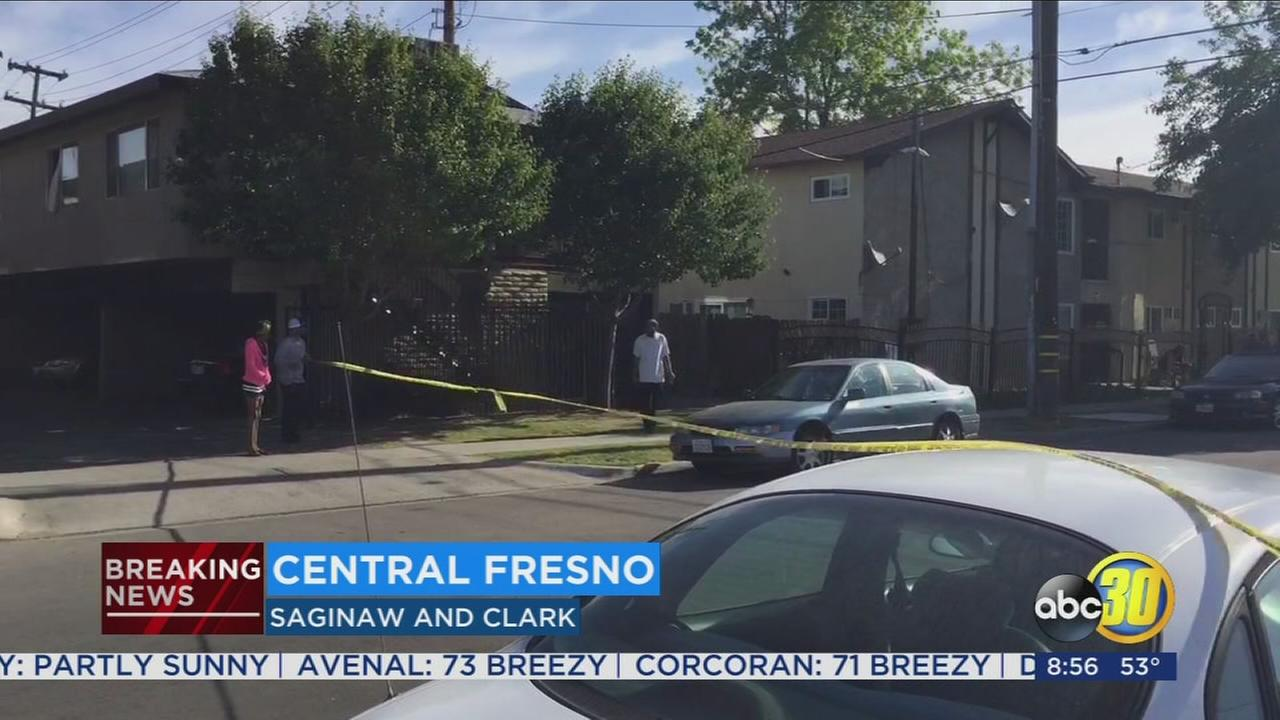 Man rushed to the hospital after Central Fresno shooting