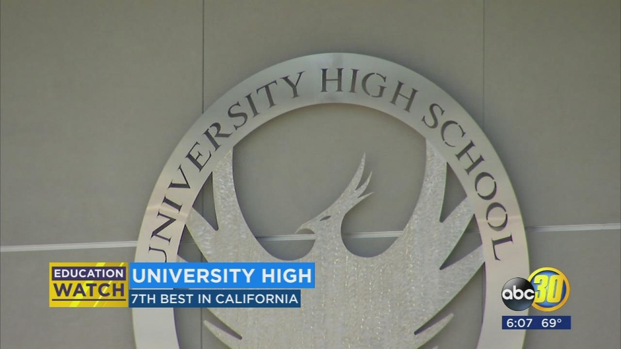 University High School in Fresno ranks among the best on list for best high schools in California