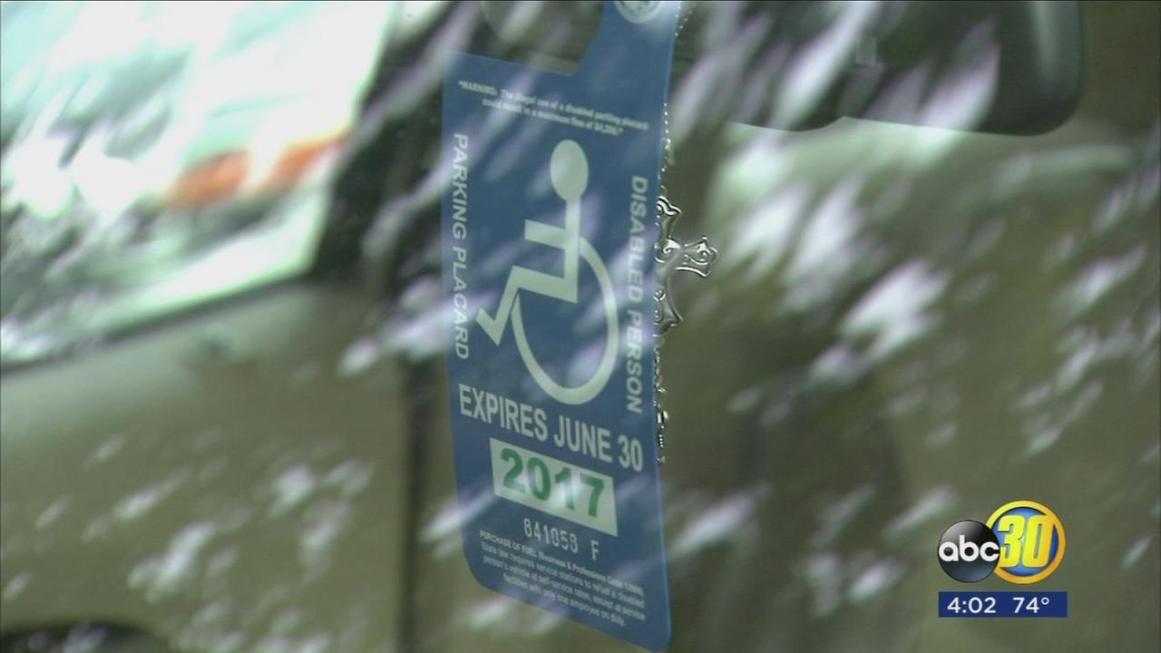Undercover officers spread out across Fresno to crack down on disabled placard violators