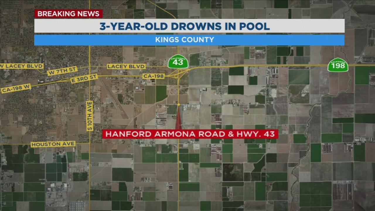 3-year-old boy drowns in backyard pool in Kings County
