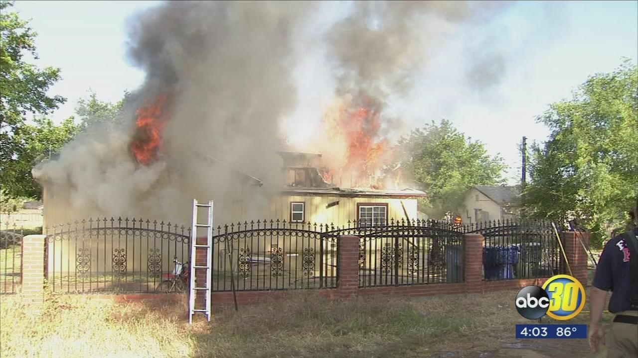Firefighters discover marijuana grow inside Fresno home