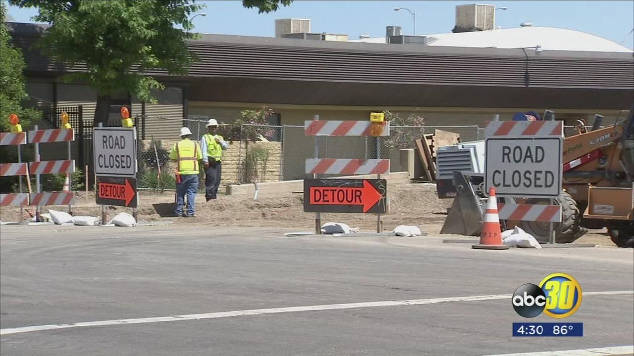 Portion of Downtown Fresno to be closed off for 2 years during high-speed rail construction
