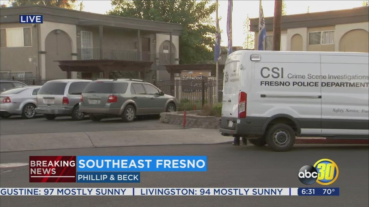 One injured, one detained in Southeast Fresno shooting