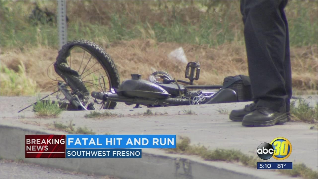 Fresno Police investigating fatal hit and run in Southwest Fresno