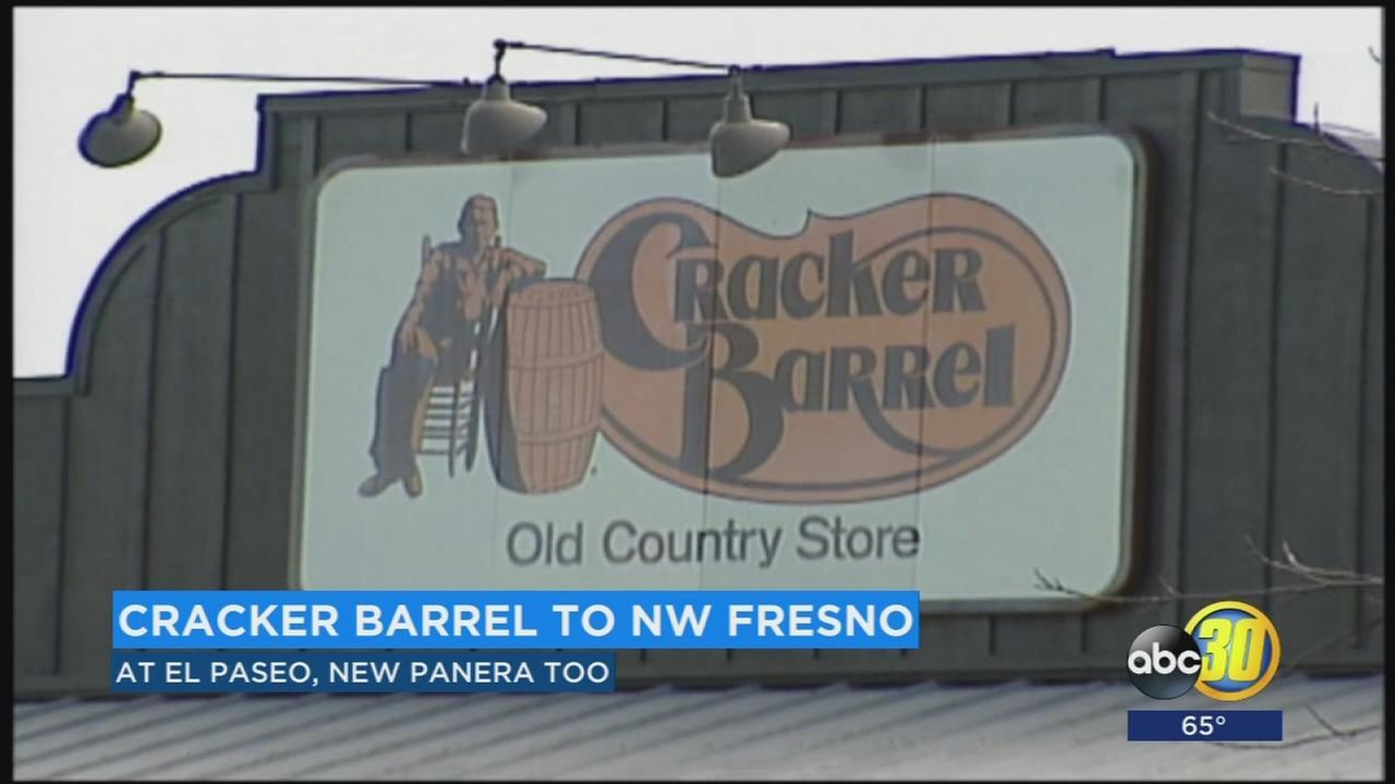 Cracker Barrel coming to Fresno