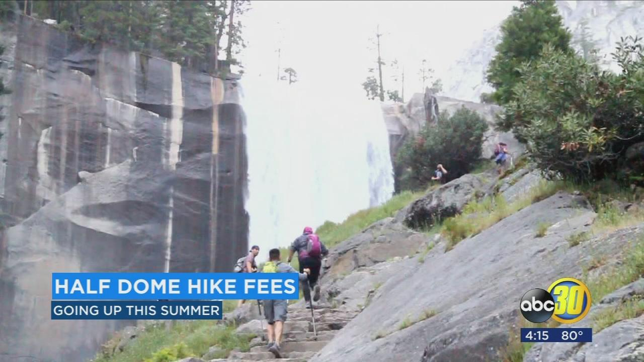Yosemite Officials announce Half Dome permit and application cost increase