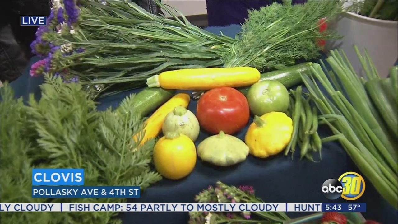 Clovis Farmers Market returns for the Summer