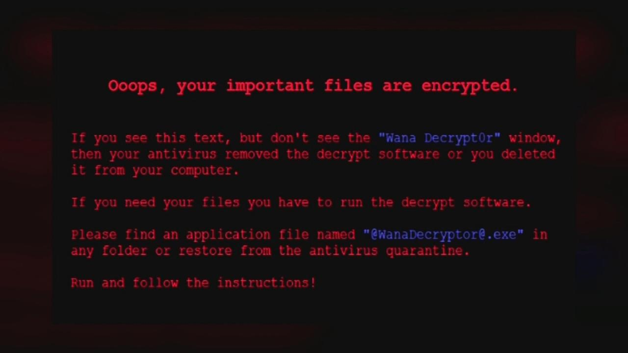 Hackers launch massive, global ransomware cyber attack