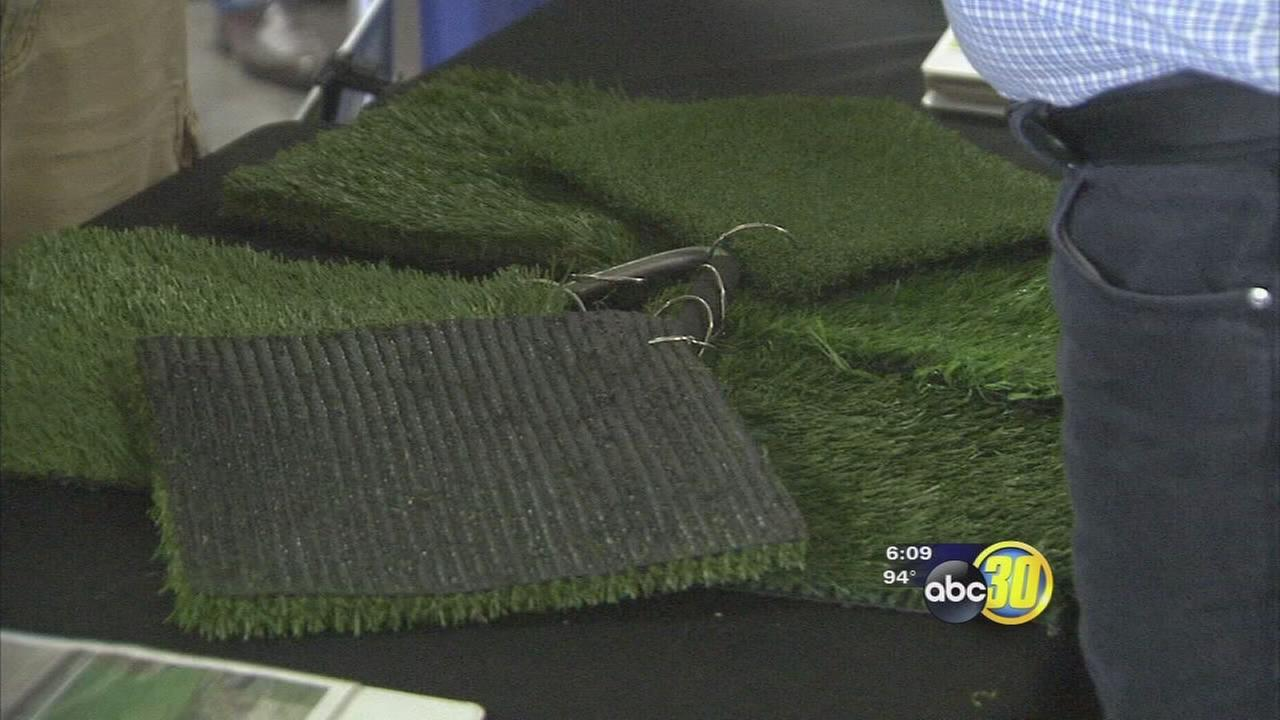 Homeowners rethinking lawns due to drought