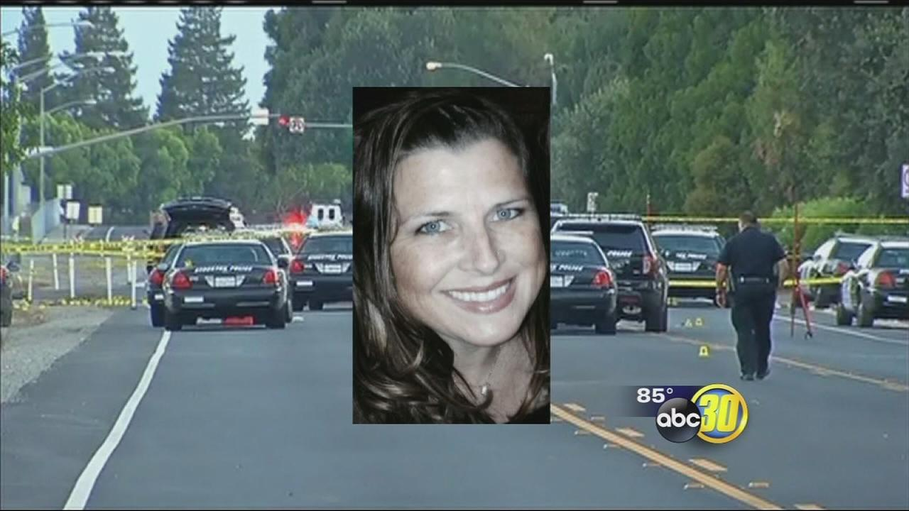 Woman killed in Stockton shootout remembered