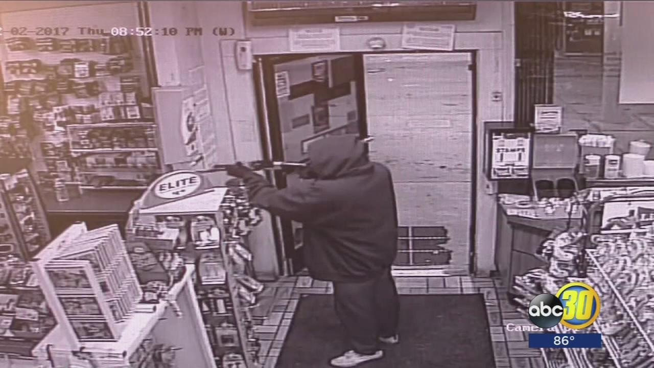 Authorities searching for culprits suspected of multiple armed robberies in Caruthers