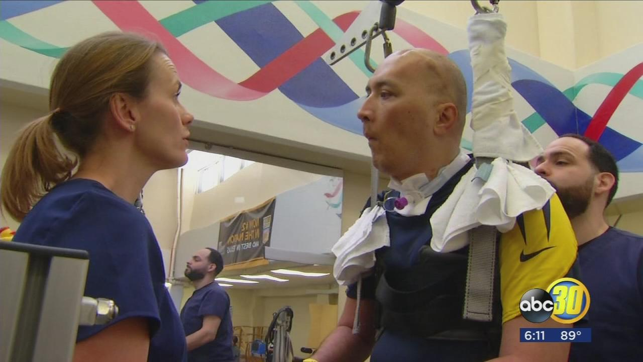 Correctional Officer Malama Scanlan makes progress toward recovery after Fresno County Jail shooting